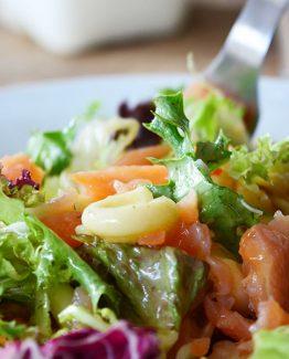 zalm-salade